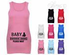 BABY LOADING FUN CUTE DESIGNER MATERNITY VEST TANK TOP BABY SHOWER GIFT