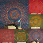 LARGE SELECTION - QUEEN INDIAN ELEPHANT MANDALA TAPESTRY BEDSPREAD Dorm Decor