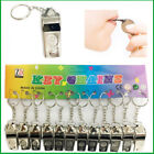 NEW Metal Whistle Football Referee Sport Guard Blowing Whistle Keychain & String