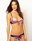 Seventh Wonderland Blue Nostalgia Knot Underwire Bikini Set RRP £160  BB-30