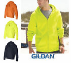 Gildan Zipped Hoodie DryBlend Sweater Full-Zip Hooded Sweatshirt S - 3XL  12600