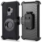 Shock Proof Defender Rugged Heavy Duty Armor Tough Hard Case Cover With Belt Clp