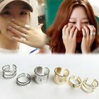3Pcs/Set Top Of Finger Over The Midi Tip Finger Above The Knuckle Open Rings