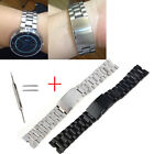 22mm Stainless Steel Metal Watch Band Strap For Motorola Moto 360 1st 1gen+Tools
