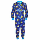 Manchester City FC Official Football Gift Boys Kids Pyjama Onesie