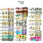 Washi Tape Decorative Masking Adhesive Paper Craft Trim - Butterflies Bugs Birds