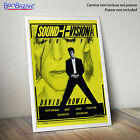 POSTER David BOWIE - sound vision - 1990 - su CARTA FOTOGRAFICA/TELA CANVAS