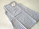 Bellora Of Italy Blue Waffle Checked Childs Sleeveless Nightgown 2 4 6 & 8 Years