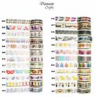 Washi Tape Decorative Masking Adhesive Paper Craft Trim - Novelty 5