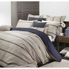 Private Collection Bennett Linen Quilt / Doona Cover Set 3 Pce or 6 Pce Sets NEW