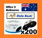 EXCLUSIVE Data Bank CD -R BLACK Recording Surface 48x 700MB 80min Blank CDR