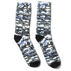 LRG Lifted Research Group MOTHERLAND CAMOUFLAGE SOCKS WH White Sublimation Mens