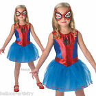 Childs Girls Official Marvel Spider-Girl Fancy Dress Halloween Party Costume