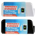 USB Emergency Portable AA Battery Powered Charger US Seller Free Shipping