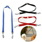 Nylon Double Multiple Dual Coupler 2 Way Dog Pet Walking Leash Lead