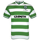 Celtic FC Official Football Gift Mens 1985 Cup Final Retro Home Kit Shirt Green