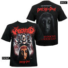 Authentic ABORTED Band Dead Skin T-Shirt S-2XL NEW