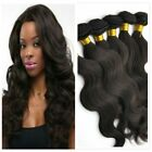100%Brazilian Virgin Human Hair Body Wave Weft Real Hair Extension Weave 100g/pc