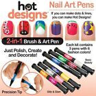 Nail Art Pen Drawing Dots Lines Hot Designs Varnish Tip Polish Decorate Manicure