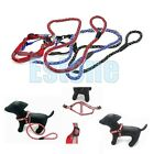 1pc Dog Pet Reflective Harnesses Leash Safety Nylon Round Collar Set