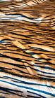 TIGER Faux Fur Fabric Material  / FREE UK DELIVERY