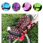 Stroller Seat Thick Mat Colorful Pushchair White Dot Cushion Cotton