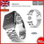 HOCO Stainless Steel Classic Buckle Watch Band Strap for Apple Watch 38/42MM UK