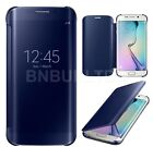 Mirror Smart View Clear Flip Case Cover For Samsung Galaxy S6 & S6 EDGE