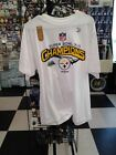 NFL Pittsburgh Steelers Super Bowl XLIII Champions White T Shirt