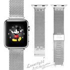 Milanese Stainless Steel Mesh Watch Band Strap For Apple Watch IWatch 38mm 42mm