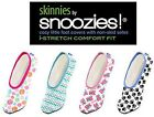 Skinnies By Snoozies Ladies Womens Slippers Small Size 3 To 4 - Various Colours