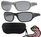 Dudes & Dudettes Boys Sunglasses Lines with case and string Kids UV400 DD7714