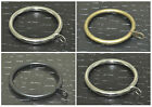 8 Pack Curtain Rings, Metal Curtain Pole Rings for 28mm Curtain Poles 4 Colours