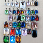 Multi-color DIY Sharp Bottom Rhinestone Crystal Glass Cosmetic Material (100pcs)