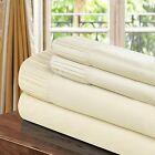 Chic Home Pleated Microfiber Sheet Beige - Twin, Full, Queen, King