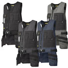 Snickers Workwear Canvas + Toolvest with Cordura Holster Tool Pockets - 4254