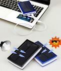 30000mAh Dual USB Portable Solar Battery Charger Power Bank fr Phone mobile STGG