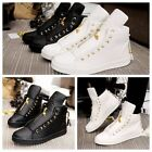 Fashion Men's High Top Sneakers Ankle Boots Lace Up Skateboard Casual Shoes T457