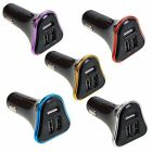 4.1A 3-Port USB Car Charger Lighter Adapter For Cell Phones & Mobile Devices