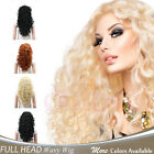 Внешний вид - OneDor Fashion Long Hair Natural Curly Wavy Full Head Wigs Cosplay Costome Party