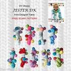 1/2 PRICE - DY CHOICE JESTER DK KNITTING & CROCHET YARN WITH POM POMS - FUN YARN