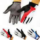 1 Pair Fashion Cycling Bike Bicycle GEL Shockproof Sports Full Finger Gloves