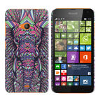 For Microsoft Nokia Lumia 535 Various Design Protector Hard Back Case Cover Skin