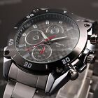 Luxury Fashion Army Sport Stainless Steel Men's Quartz Military Wrist Watch