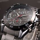Luxury Fashion Men's Army Sport Stainless Steel Quartz Military Wrist Watch