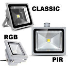 LED Floodlight Warm Day White 85-265V PIR Sensor Wash Light 10 20 30 50 80 100 W