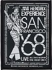 Jimi Hendrix San Francisco 1968 sew-on cloth patch (ro)  REDUCED - one only