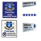 EVERTON METAL SIGNS (Metal Door Sign, Street Sign)Official Club Merchandise