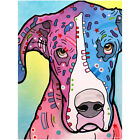 Great Dane Nobodys Fool Dean Russo Dog Wall Decal Removable Wall Art