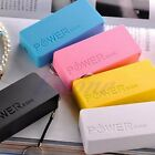 5600mAh For Mobile Phone Power Bank USB Portable External Backup Battery Charger